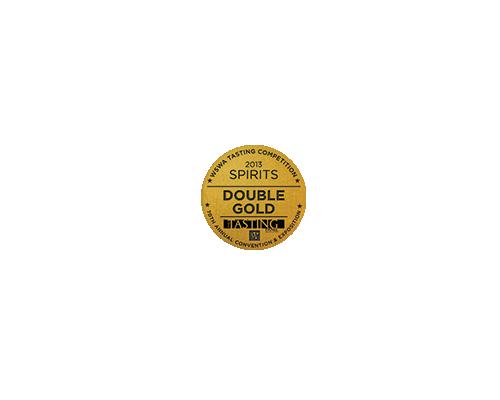 12YO SPIRITS Double Gold WSWA 2013.png