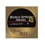 20YO world spirits awards gold 2011.png