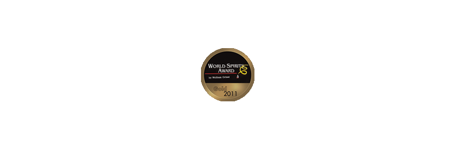20YO world spirits awards gold 2011.png