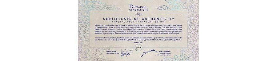 Dictador Generations en Lalique certyficate 1.tif