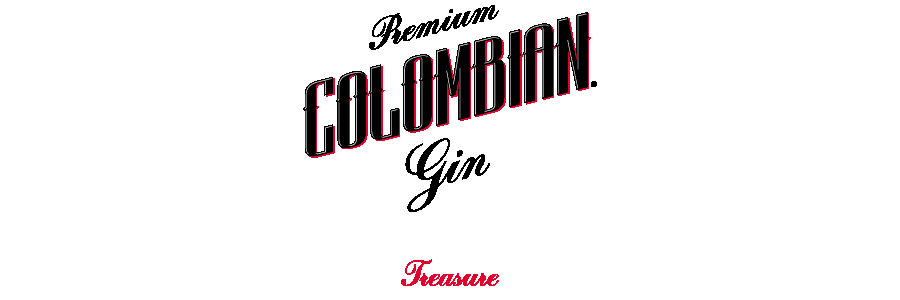 Dictador Premium COLOMBIAN Gin Treasure .eps
