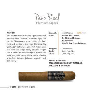 Pavo real cigar tasting notes.jpg